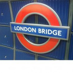 Step by Step Guide to London Bridge Tube Station in London #London #stepbystep