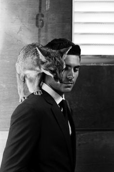 Zac Efron and a Monkey from Zac Efron and Animals | E! Online