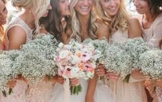 Baby's breath bouquet - Weddingbee