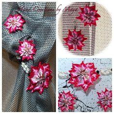 Hand Creations by Maya: VISION(Ένα μπουκέτο απο σκουλαρίκια και μαργαριτα...