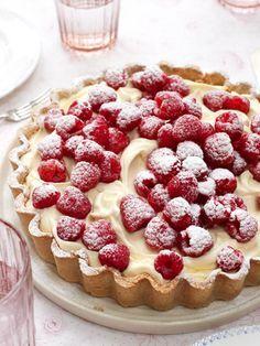 WHITE CHOCOLATE TART | Free Recipe Hub