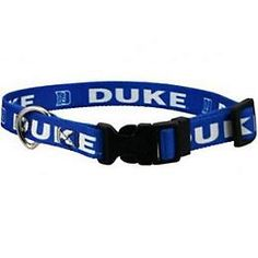 Show support of your favorite team with this adjustable nylon officially licensed Duke University dog collar! This collar closes with a hard plastic locking clasp for easy access on and off. Sir Duke, Duke Blue Devils, Team Gear, Duke University, Dog Boutique, Dogs And Kids, New Puppy, Lady, Royal Blue