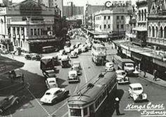 Kings Cross, Sydney, Australia in 1950. v@e