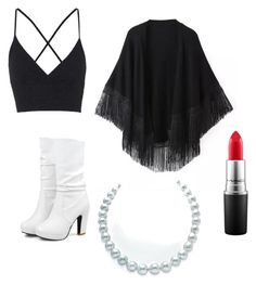 """""""Untitled #17"""" by hotpinkallie ❤ liked on Polyvore featuring beauty, Topshop, Relaxfeel and MAC Cosmetics"""
