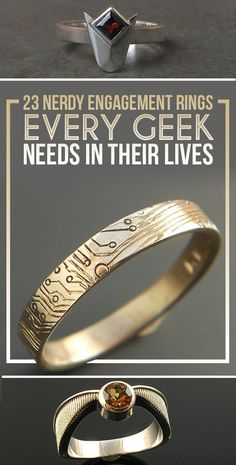 http://rubies.work/0213-ruby-rings/ 23 Nerdy Engagement Rings Every Geek Needs In Their Lives