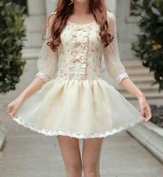 Very sweet and cute dress