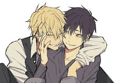I has come to my attention that my obsession with yaoi can not cool d… Durarara X2, Izaya Orihara, Shizaya, Drawings Of Love Couples, Love Drawings, Manhwa, Another Anime, Shounen Ai, Noragami