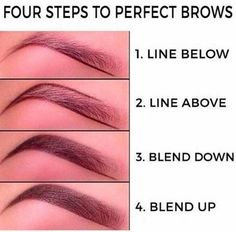 make up;make up for beginners;make up tutorial;make up for brown eyes;make up for hazel eyes;make up organization;make up ideas; Eyebrow Makeup Tips, Makeup Hacks, Skin Makeup, Makeup Brushes, Makeup Eyebrows, Makeup Ideas, Good Eyebrows, Makeup Tips And Tricks, Makeup Looks