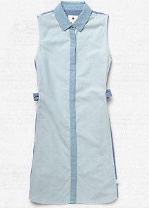 Women's Lark Woven Dress blue, khaki $70