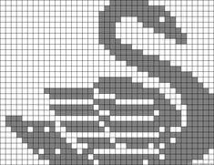 swan cross stitch - friendship-bracelets.net