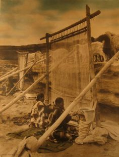 William Pennington American Navajo Weavers 1905