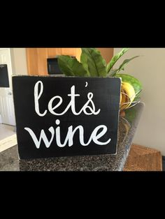 Let's wine : by PocketfulofSawdust on Etsy