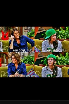 You're a like if you remember that episode when the Jonas brothers were hanging out with Miley' s dad- and you freaked out. Back when Miley Cyrus was good Hannah Montana Funny, Disney Memes, Disney Quotes, Old Disney Shows, Old Disney Channel, Nickelodeon, Tv Show Quotes, Old Tv Shows, Jonas Brothers