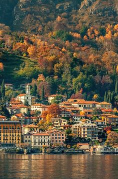Lake Como in autumn, Italy. by Cool Italy Vacation: 26 Places in Italy You Must to See Italy Vacation, Vacation Spots, Italy Travel, Vacation Travel, Vacation Destinations, Places Around The World, The Places Youll Go, Places To See, Lac Como