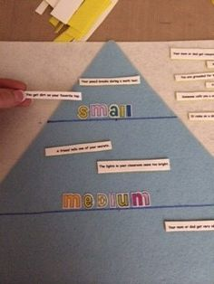 Sizing Up Problems and Feelings with fun felt activity. Easy to make and free printable!