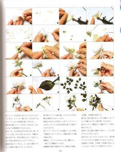 Japanese flower making e-books, Somebana techniques, millinery tutorial, floral art. $30.00, via Etsy.