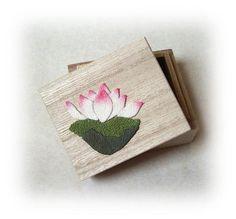 蓮の花の小箱 の画像|ちりめん遊び うさぎ