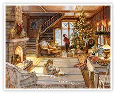 Мобильный LiveInternet Уютная зима от Триши Романс | solnechnolunnaya - Волшебные страницы |
