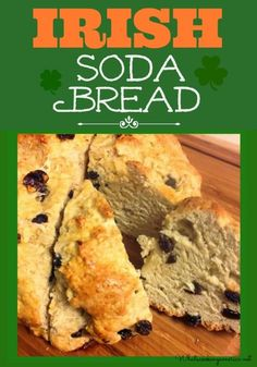 Irish Soda Bread can be found in homes and markets all over Ireland. No yeast is required in this Soda bread - never has been in real Irish Soda Bread. Side Dish Recipes, Bread Recipes, Cooking Recipes, Snack Recipes, Irish Lamb Stew, Irish Soda Bread Recipe, Irish Bread, Irish Recipes, Bread Rolls