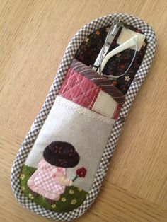 Glasses Case, Eye Glasses, Small Bags, Wallets, Applique, Quilting, Japanese, Embroidery, Sunglasses