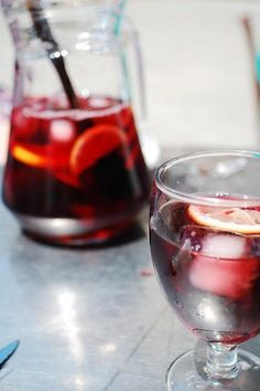Sangria: Spain's most popular drink features red wine and seasonal fruits HispanicKitchen.com