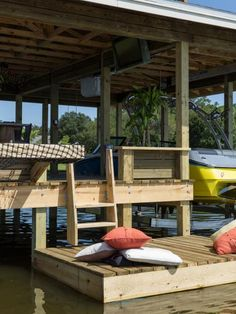 Boat Dock Design Ideas my floating dock build property projects construction pond boss forum Dock Pictures From Blog Cabin 2014