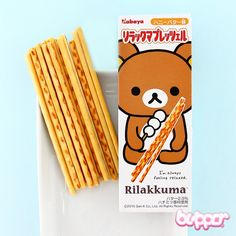 Rilakkuma Cookie Sticks