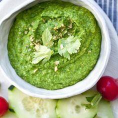 I Quit Sugar - Green Hummus