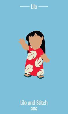 'Lilo Illustration' Art Print by realGabe Lilo And Stitch 2002, Lilo Et Stitch, Disney Love, Disney Art, Disney Pixar, Disney Phone Wallpaper, Cartoon Wallpaper, Disney Minimalista, Wallpaper Fofos