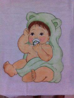 Fralda menino... Feito por Bianka Amaral