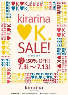 KEIO : Kirarina ♥K SALE! (2014) | Harajuku Sun-Ad