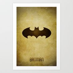 batman Art Print by whosyourdeddy - $15.00