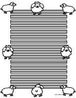 Erste Klasse Schaf