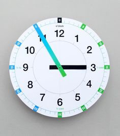 'Tell the time' clock