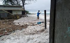'Disaster after disaster' hits Marshall Islands as climate change kicks in --  Rising seas and increasing floods put low-lying islands on front line of climate change