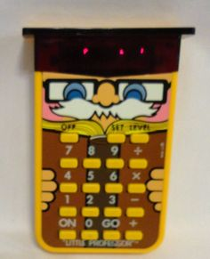 Vintage 1978 Texas Instruments Little Professor Calculator Electronic Math Tutor #TexasInstruments