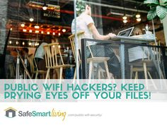 Public Wifi Hackers? Keep Prying Eyes Off Your Files!