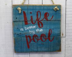 Porch Sign Life is better on the Porch by EverydayCreationsJen