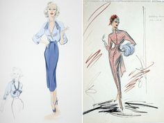 Edith Head. The eight time Academy Award winner designed costumes for over 1100 films in a span of fifty years.