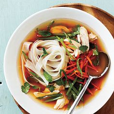 Spicy Asian Chicken and Noodle Soup | MyRecipes.com
