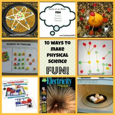 10 ways to make physical science FUN!