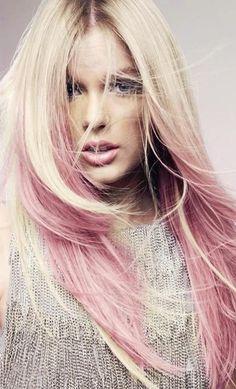 Pink & blonde #hair