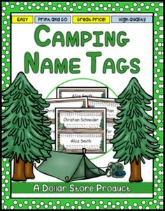 This set includes a camping-themed word-wall size classroom alphabet in your choice of 2 fonts. Classroom Helpers, Classroom Labels, Classroom Jobs, Desk Name Tags, Abstract Nouns, 1st Grade Math, Grade 2, Third Grade, Prepositional Phrases