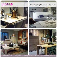 Styling winkel Nibema Riemst Design by NRS Corner Desk, Furniture, Design, Home Decor, Corner Table, Decoration Home, Room Decor, Home Furnishings