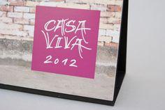 Lettering for Casa Viva calendar 2012
