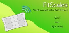 Give your Wii Balance Board a second life with FitScales for Android (Image credit: Google Play)