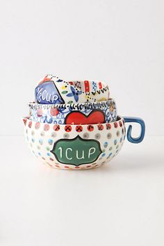 Cucina Measuring Cups: Anthropologie