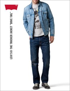 """#Levis® The #Trucker #Jacket """"Dove Tail"""""""