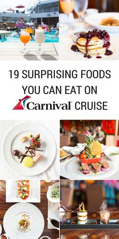 19 Surprising Foods You Can Eat On A Carnival Cruise