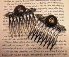 Vintage Key Hair Combs